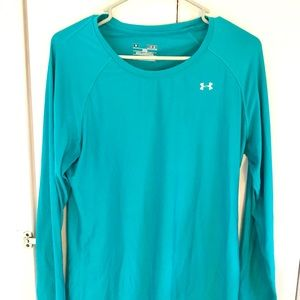 Turquoise Under Armour Long Sleeve